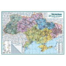 Україна. Карта залізниць, м-б 1:1 000 000 (на капі в рамі)