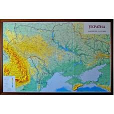 Україна, м-б 1:635 000 (в дерев'яній рамі)