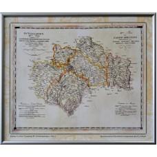 Карта Східної Галичини Й. Ліхтенштерна (1803) (в рамі)