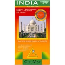 Індія (Географічна карта) / India (Geographical edition)