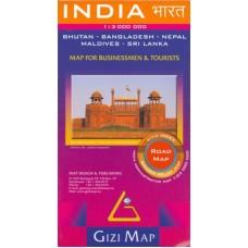 Індія (Карта автошляхів) / India (Road edition)