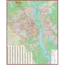 Київ. План міста, м-б 1:25 000 (на картоні)