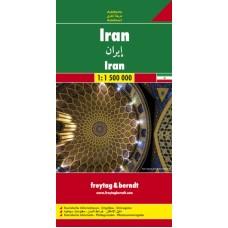 Іран. Карта автошляхів / Iran. Autokarte