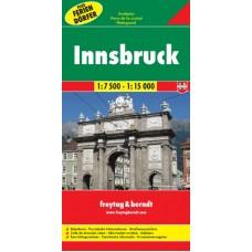 Інсбрук. План міста / Innsbruck. Stadtplan