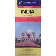 Індiя. Туристична карта